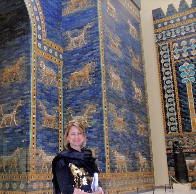A Porta de Ishtar no Museu Pergamon em Berlim