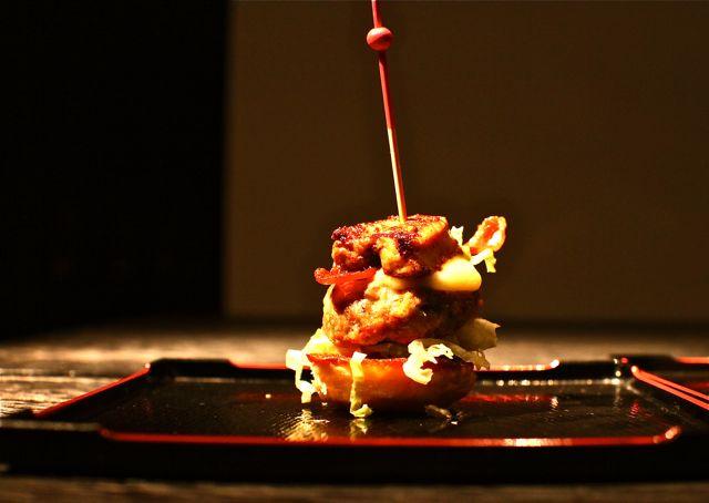 Cheeseburger com Foie Gras
