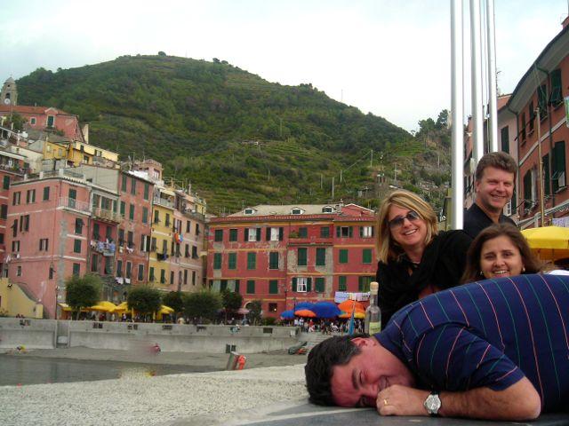 Randy, Dorinha, Luiz e eu