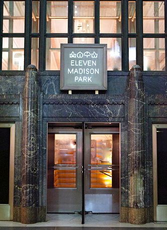 Fachada do Eleven Madison Park