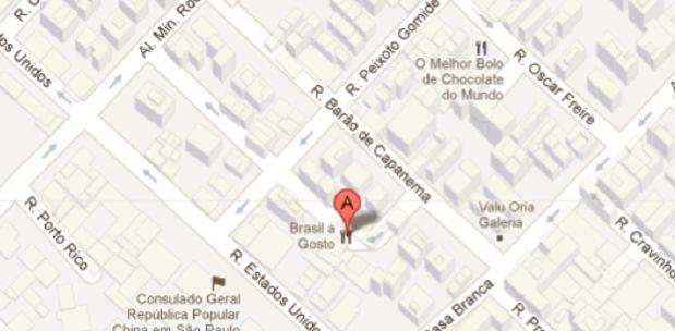 Mapinha, endereço difícil de achar