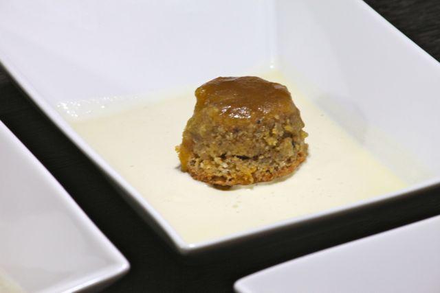 Flan de Châtaigne Crème anglaise