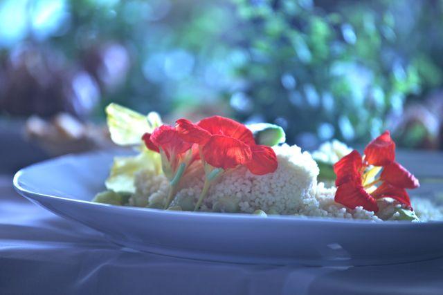 Couscous marroquino com Aspargos