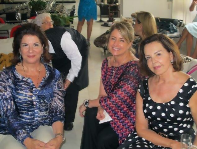 Maria Eugênia, Dilu e Leleta - Foto: Fabiana Fagundes