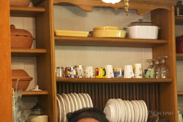 Tive de mostrar a cozinha. Aliás o paraíso do paraíso!
