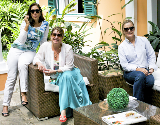 Angela, eu e Maria