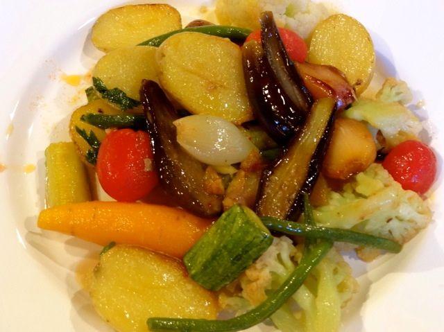 Legumes cozidos à perfeição