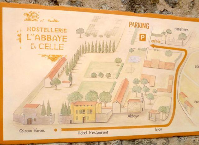 Hostellerie L de ABBAYE de LA CELLE