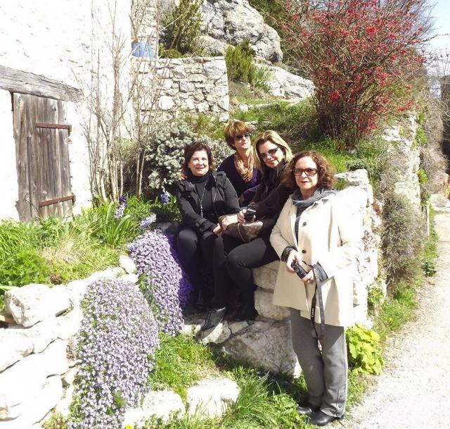 Eu, Suely, Maria Lúcia e Yolandinha