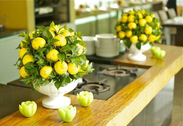 Abundância de limão siciliano conferiu frescor