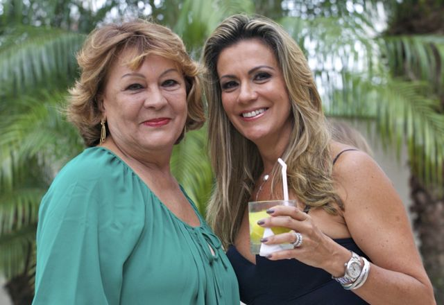 Patricia e sua mãe