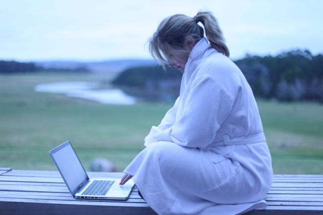 """Trabalhar no blog já é """"Dilucious"""", imagina nesse paraíso..."""