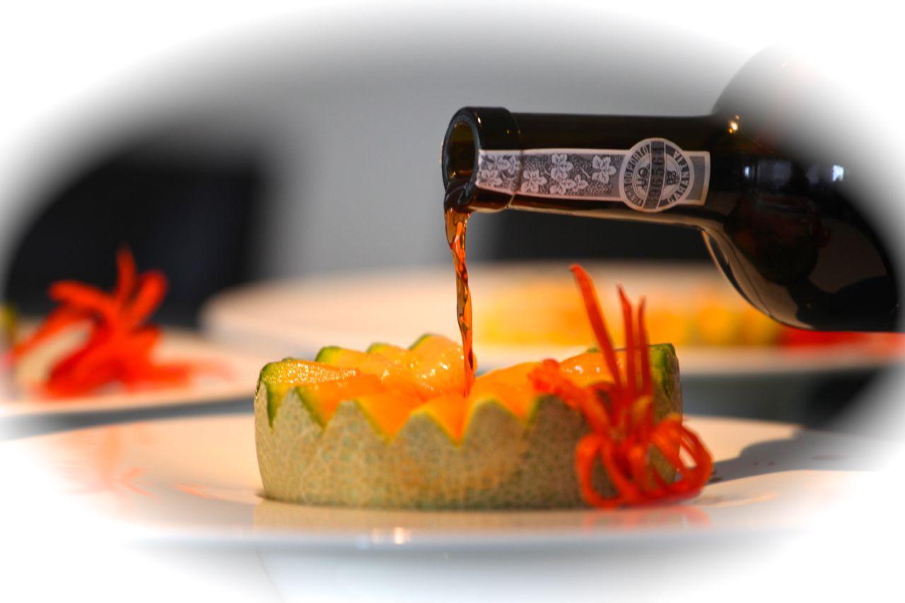 Cantaloupe com Porto