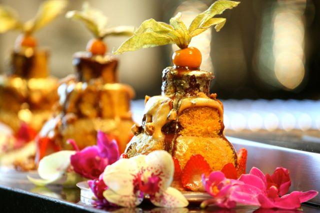 Lembrancinha preparada pela Dilu Mini Naked Cake