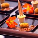 Picolé de Pequi Croquete de Pequi com Molho de Carne Seca