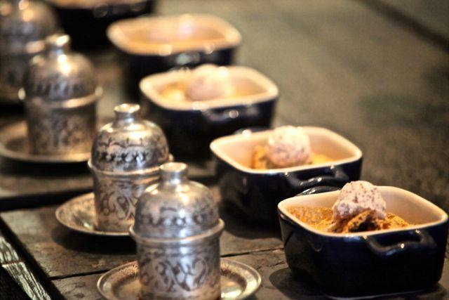 Sobremesa Chá de Pêssego com especiarias