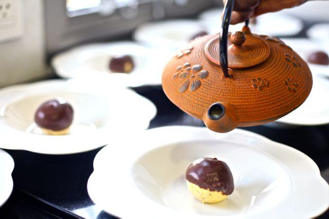 Bolota de Maracujá com Chocolate
