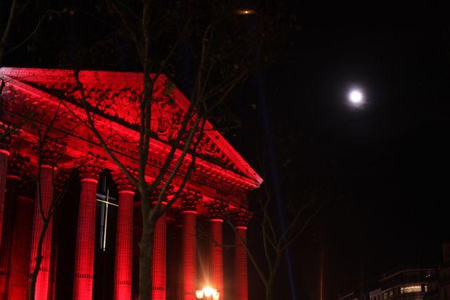 Como se não bastasse toda essa maravilha, Deus ainda manda a lua...