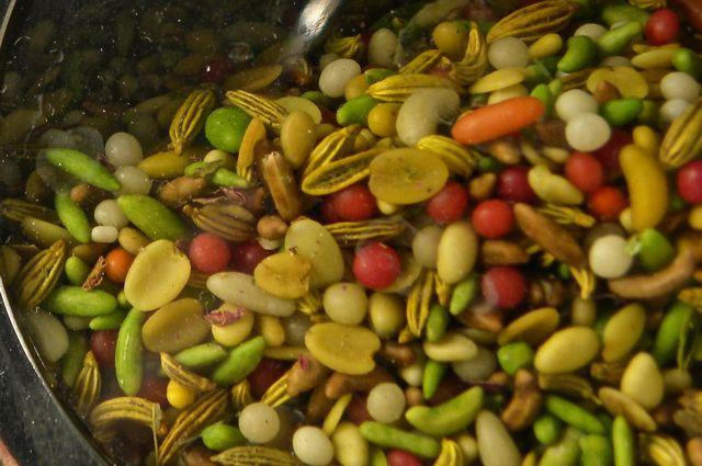 Mistura de especiarias digestivas