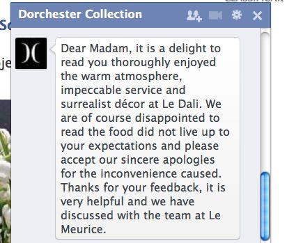 Doscherter Collection Rede de hotéis a qual o Le Meurice está incluído
