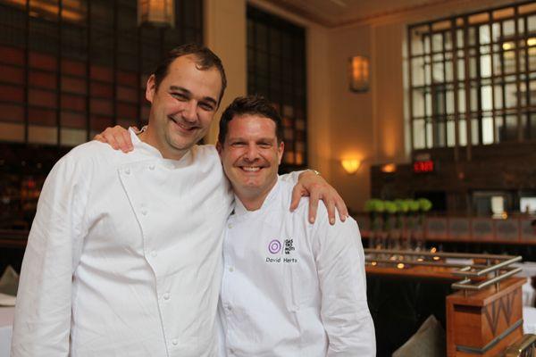 Os chefs do bem: Daniel Humm e David Hertz