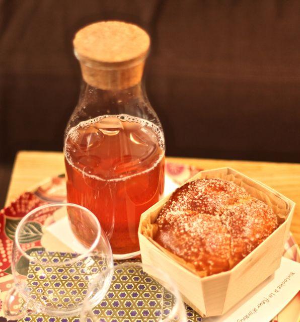 Chá e Brioche quentinho