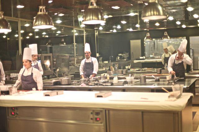 Cozinha fria, equipamentos por indução