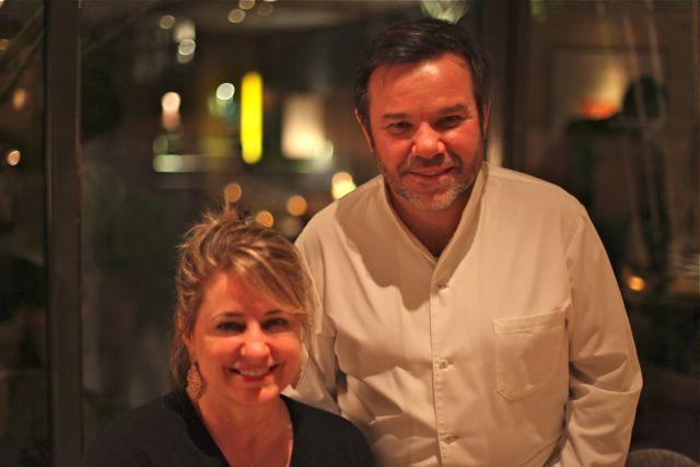 E com Michel Troisgros, um dos melhores chefs do mundo