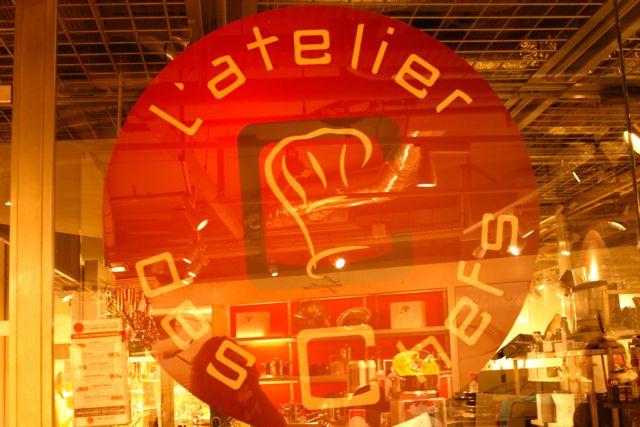 Paris Atelier des chefs