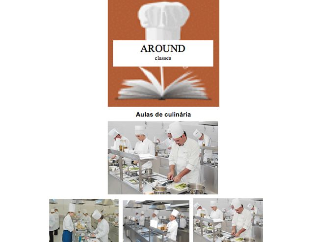 E ainda será palco para excelentes e inusitadas aulas de culinária