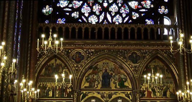 saint chapele painel