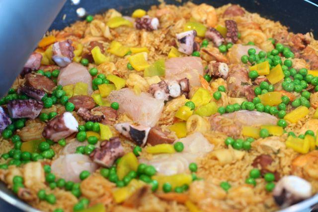 Dorinha Paella c peixe