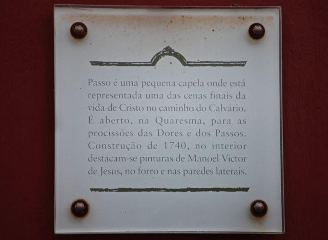 Tiradentes placa igrejinha