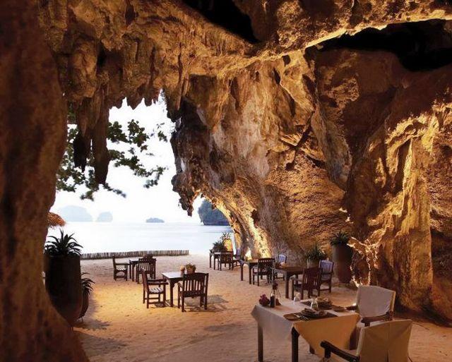 13. The Grotto (Tailândia) Fonte: rayavadee.com