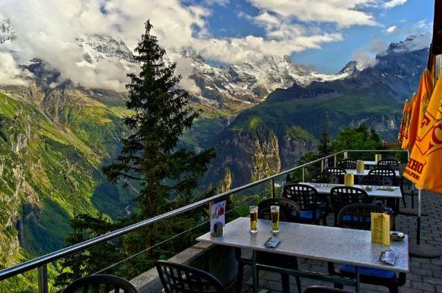 5. Hotel Edelweiss (Mürren, Suíça) Fonte: reddit.com