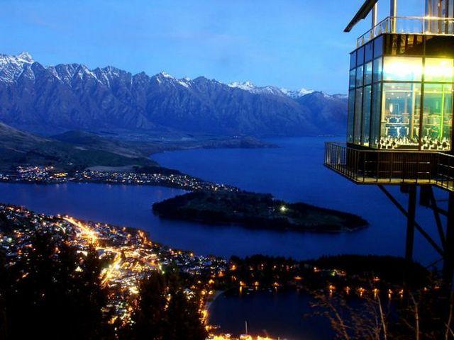 6. Skyline Restaurant (Queenstown, Nova Zelândia) Fonte: skyline.co.nz