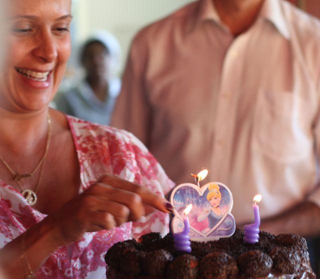 Aniversario Ang aninha bolo