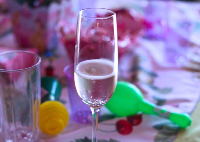 Aniversario Ang champagne