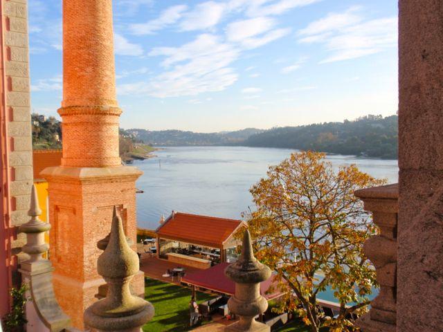 Douro visto do restaurante do Palácio do Freixo