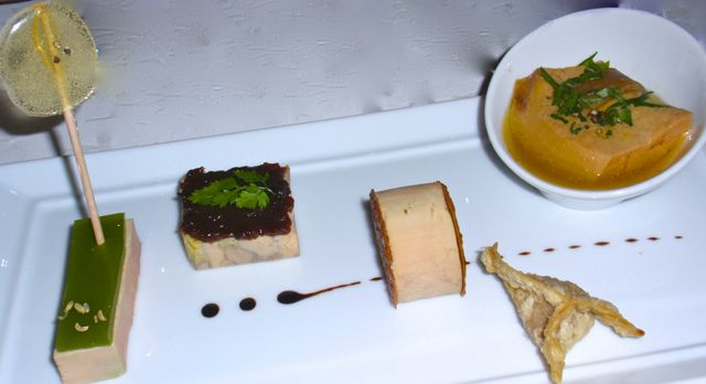 Declinação de foie gras
