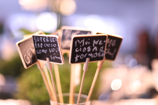 Mensagens no final de um encontro