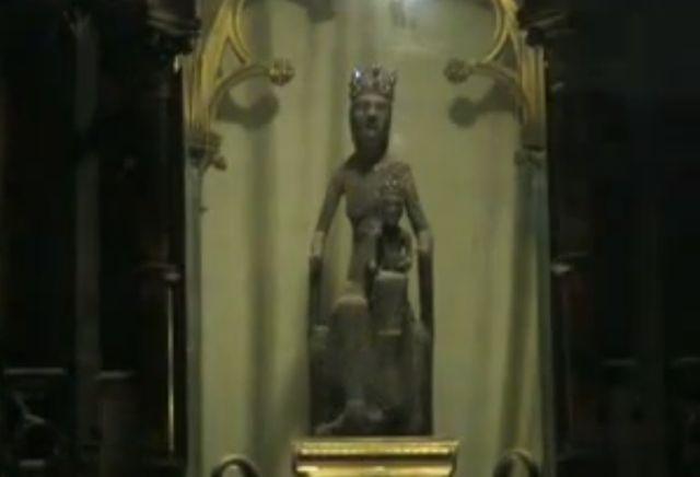 Rocamadour Virgem negra