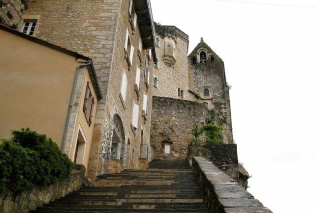 Rocamadour escadaria