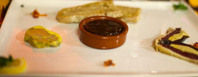 Les Deux Foies Gras de Canard Magret de Canard fourré ai Foie Gras L'Escalope de Foie Gras Terrine de Foie Maison