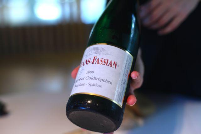 El Celer vinho Fassian