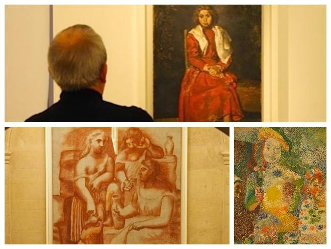 Picasso e faixa_Fotor_Collage