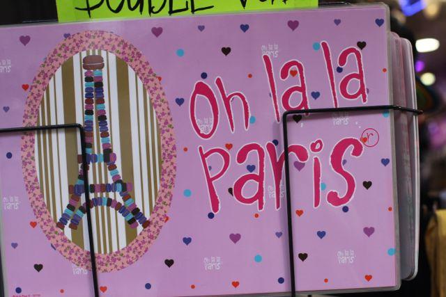 Meu coração sangra Oh la la Paris