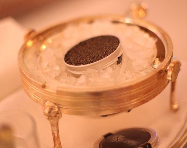 Monaco caviar aberto