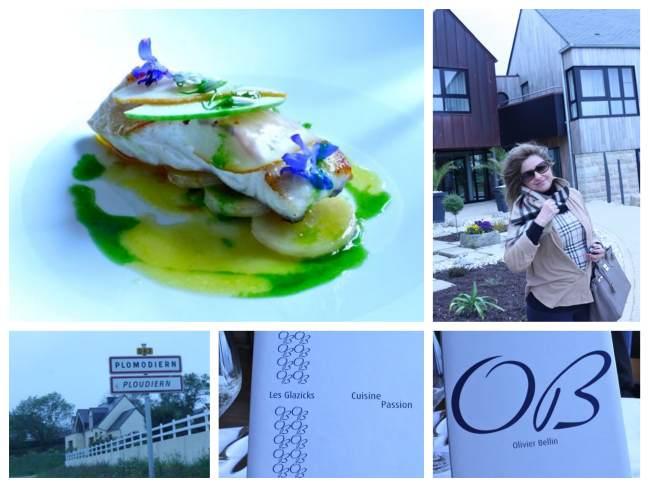 L'Auberge des Glazicks do chef Olivier Bellin  Em Plomodiern, minúscula cidade no interior da Bretanha
