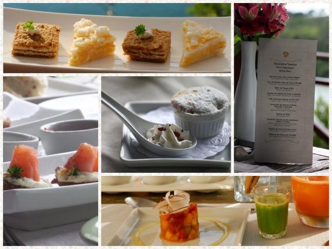 Depois de uma linda noite, um café da manhã dos Deuses... Afff, tenho de repetir, é a melhor coisa do Ponta dos Ganchos!